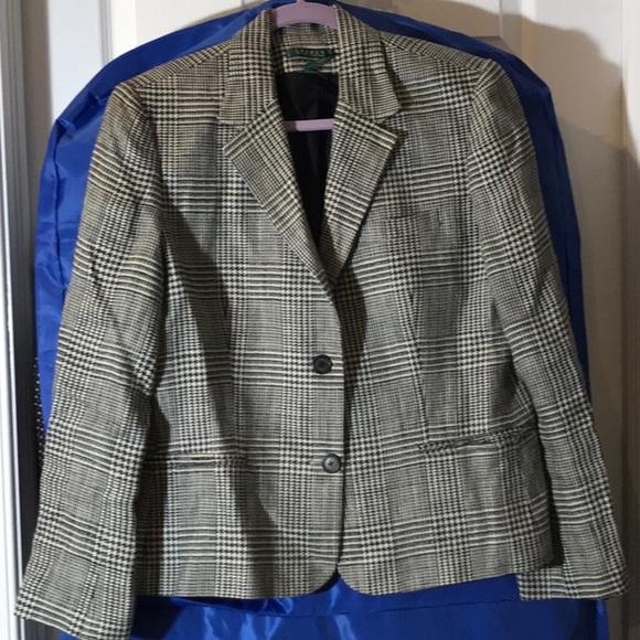 Lauren Ralph Lauren Jackets & Blazers - Classic Lauren windowpane blazer